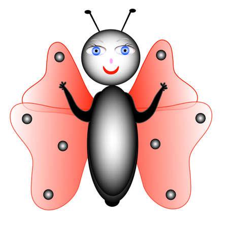 entomologist: One ladybug