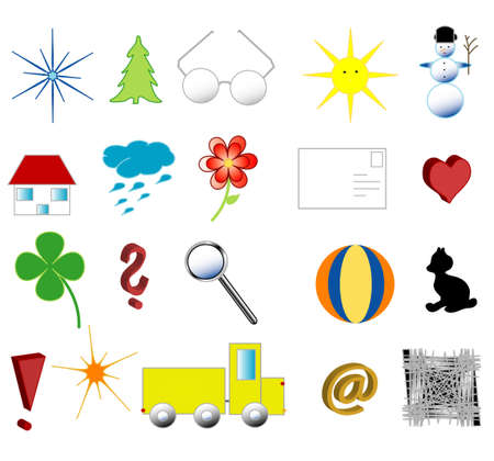 Symbols for young children photo