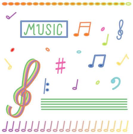 Music theme photo