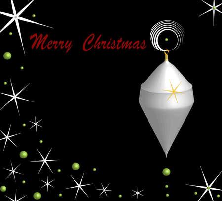 christmas motive: Night Christmas motive, format square