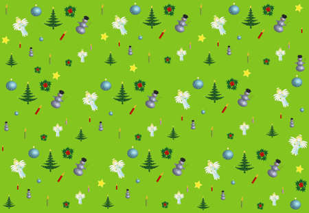 Colors Christmas Design Pattern seamless Stock Photo - 8264822