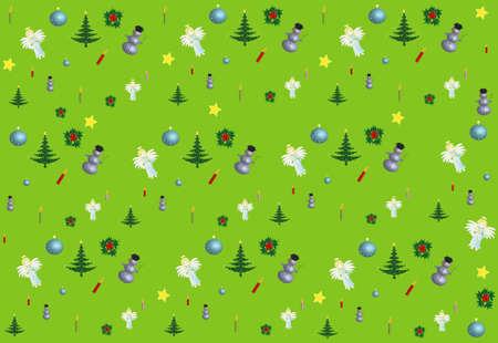 Colors Christmas Design Pattern seamless Stock Photo - 8264822