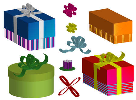 set boxes Stock Vector - 8330769
