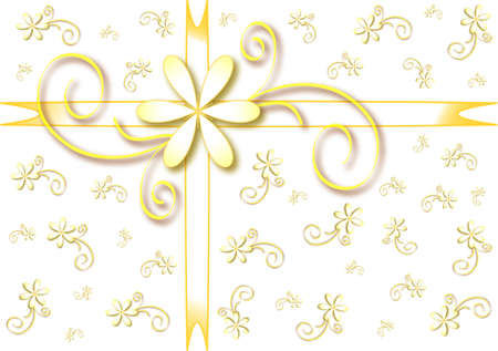Holiday gift wrapping Vector