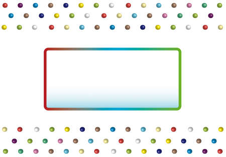bilboard: Background for childrens party, frame for text