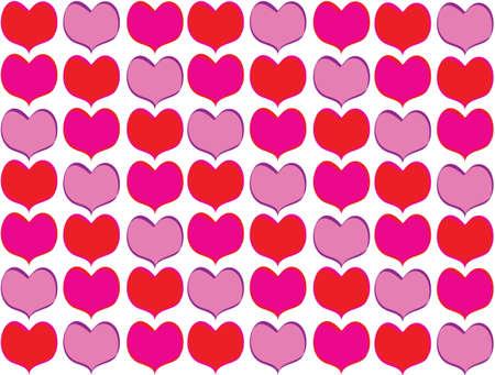 shaped: Heart shaped background. Stock Photo