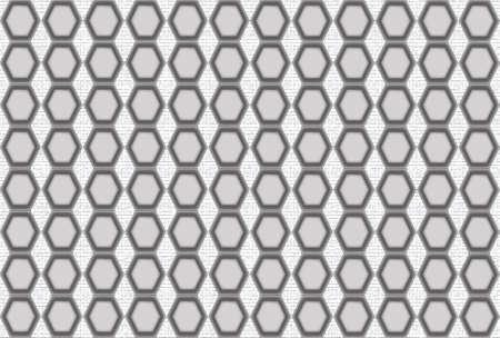 hexagonal shaped: Seamless technical background