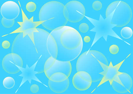 Desing light blue dynamic illustration Water abstract background, vector format.