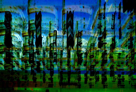Abstract background, wallpaper. Abstraction photographed directly by the effect of movement