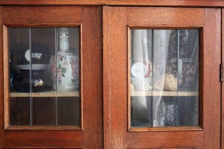 Old cupboard Stock Photo