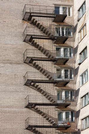 backstairs: Metallic backstairs