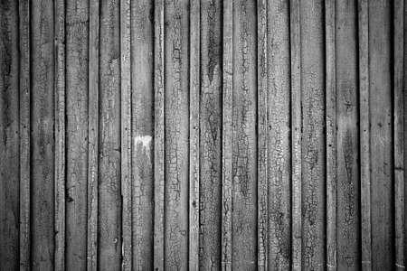 ribbed slab: Old fence boads Stock Photo