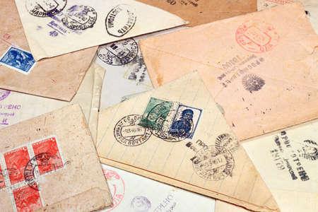 seconda guerra mondiale: Le lettere sembravano censura militare WW2