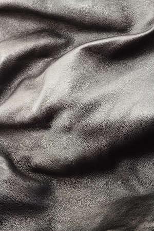 crumple: Crumple leather