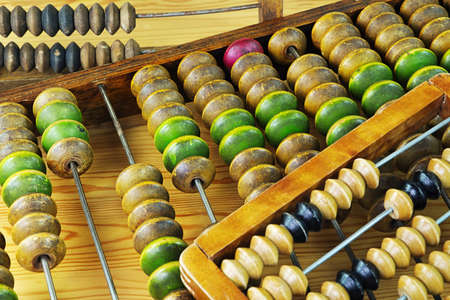 abaco: Vintage wooden abacus
