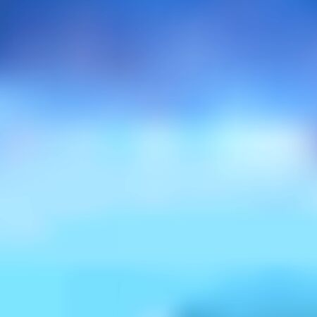 Abstrakter unscharfer Hintergrund in Blautönen. Hervorragend als Hintergrund für die Produktion von Druckprodukten, Werbung oder anderen Designs. Vektorgrafik