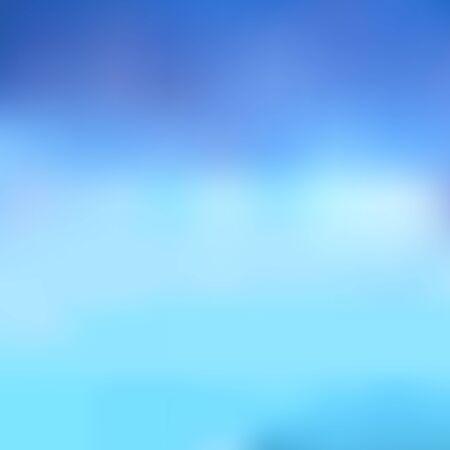 Streszczenie niewyraźne tło w odcieniach niebieskiego. Doskonałe jako tło do produkcji dowolnego produktu drukowanego, reklamy lub innego projektu. Ilustracje wektorowe