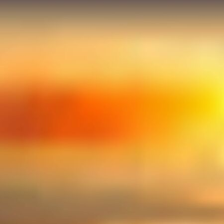 Abstract yellowish orange blurred background, sunset sky. Excellent as a background for the production of any printed product, advertising, or other design.