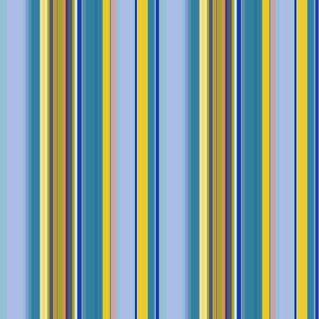 Seamless striped pattern of bright blue and yellow stripes of different widths, trendy vector. Great for decorating fabrics, textiles, gift wrapping design, any printed materials and advertising.