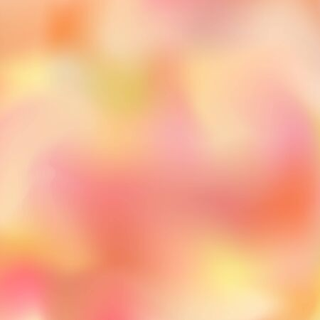 Orange pink with yellow blurred abstract background. Great as a background for a poster, web pages, gift wrapping design, any printed materials, advertising, or other design. Ilustrace