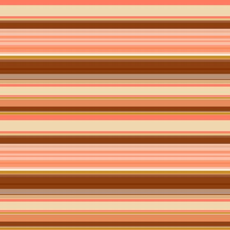 Stripes of different widths, brown-orange gamma with beige and ocher. Seamless striped pattern. Great for decorating fabrics, textiles, gift wrapping design, any printed materials and advertising.