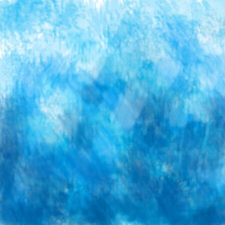 Abstract background, a beautiful transition from Persian blue to light blue, an imitation of oil paint on canvas. Great as a background for a poster, web pages, advertising, or other. Stockfoto - 129818665