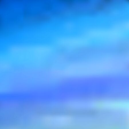 The sky at dawn, a blurred background in blue, light blue and cornflower-blue tones, vector. Excellent as a background for the production of any printed product, advertising, or other design.