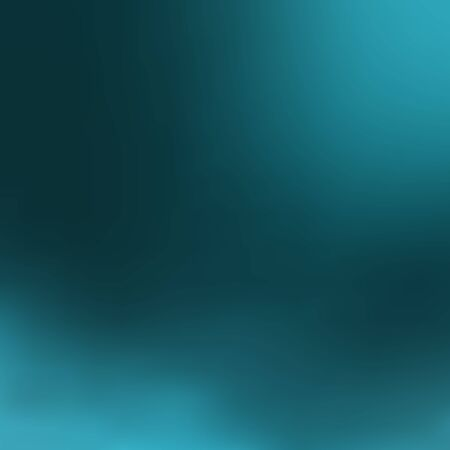 Dark turquoise blurred background with light greenish blue spots in the corners, vector. Excellent as a background for the production of any printed product, web pages, advertising, or other design.