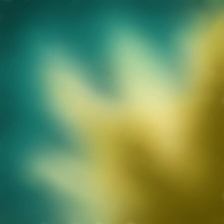 Blurred dark turquoise background with tan splash of sand. Great as a background for a poster, web pages, gift wrapping design, any printed materials, advertising, or other design.