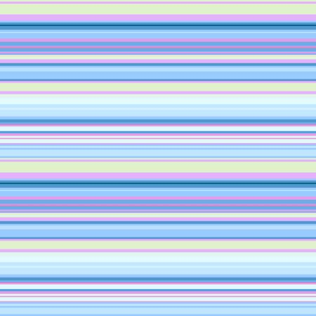 Seamless print in blue-lilac horizontal stripes, vector. Background pattern, great for decorating fabrics, textile products, gift wrapping designs, any printed products, including promotional ones.
