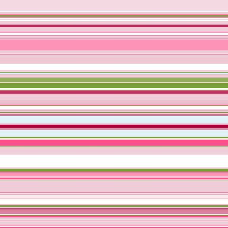 Seamless horizontal stripes geometric pattern. Stripes of different widths of pink, white, cherry, yellow-green colors. Ideal for any of your bold designs or projects.