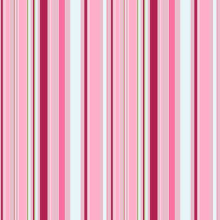 Bright seamless pattern of vertical stripes of different widths. Trendy striped print with stripes of pink, purple, and white. Suitable for fabrics, print materials, advertising, or other design.