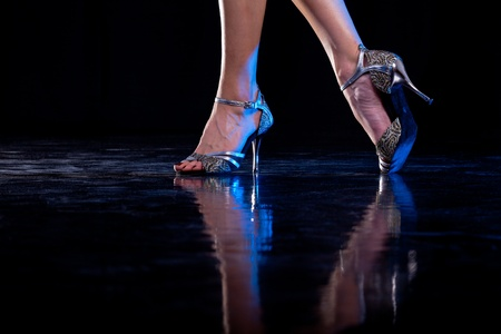 dance floor: Dancing feet