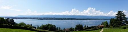 ジュネーブ湖パノラマ