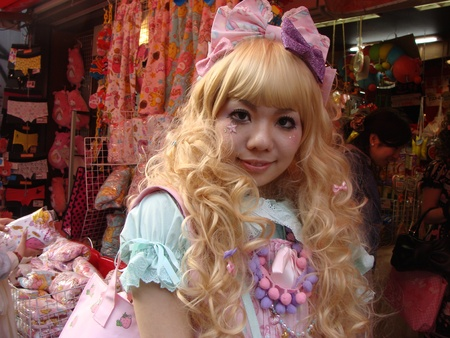harajuku: Lolita on Harajuku street, Tokyo