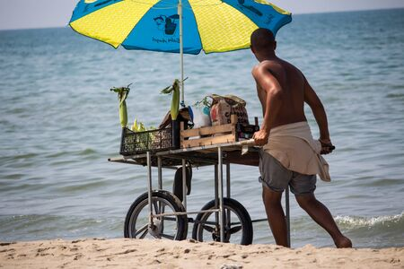 itinerant: Beach Worker Editorial