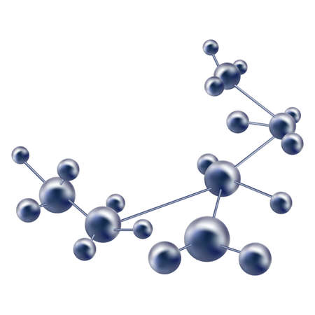 abstract molecule Stock Vector - 17536612