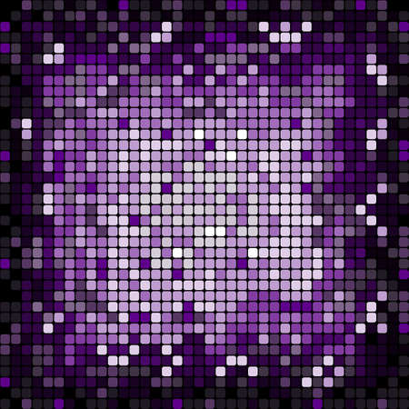 Abstract background of shiny mosaic