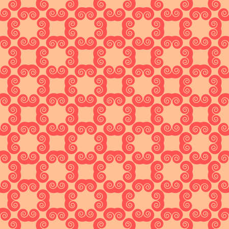 Colorful geometric pattern seamless in abstract style Vector