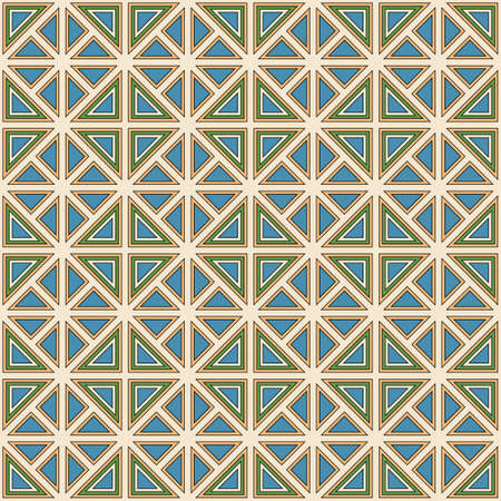 moresque: Colorful geometric pattern seamless in abstract style