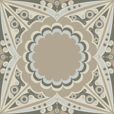 moresque: Ornamental vector patterned background. Arabesque ornament