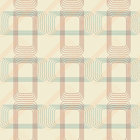 Vector seamless pattern. Abstract background in geometric style