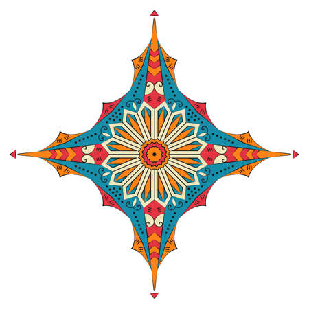 Colorful ethnic pattern. Vector element for design