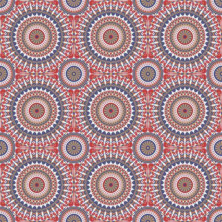 Vector seamless pattern. ornement ethnique coloré. le style Arabesque Banque d'images - 76854260