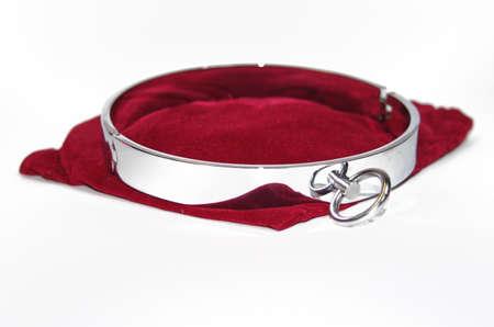 bdsm handcuff: Very sexy and kinky steel collar