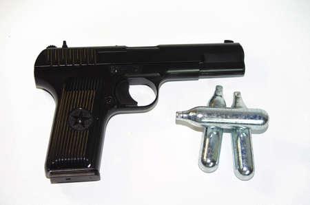 airgun: Black airgun