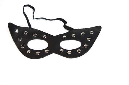 Black fetish masks
