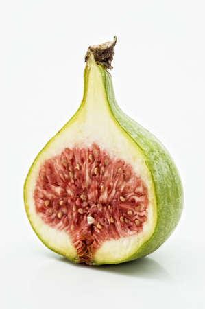 Fresh fig on white background. Stock Photo - 3182607