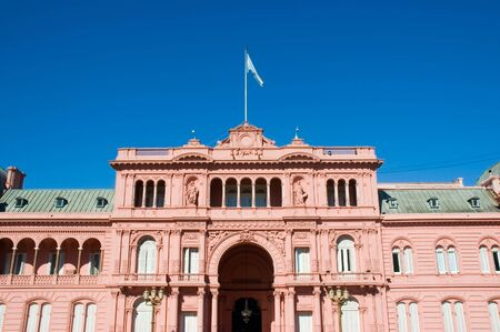 presidency: Government�s house. Buenos Aires, Argentina. Stock Photo