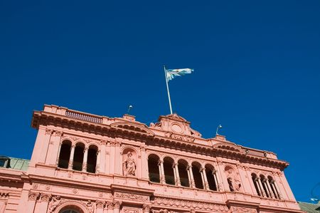 Government�s house in Buenos Aires, Argentina. Evita�s balcony.